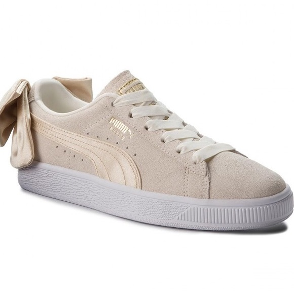 65fcd3276e3c PUMA Suede Varsity sneaker- Marshmallow Gold